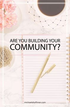 Are you building your community for your online business? Grow your online business with a community. solopreneur, online business, content marketing, business tips