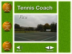 Tennis Coach Slide 1