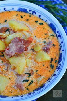 Romania Food, Soup Recipes, Cooking Recipes, Cheeseburger Chowder, Hummus, Good Food, Food And Drink, Menu, Ethnic Recipes