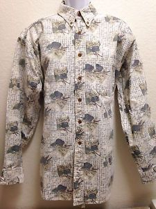 Woolrich Mens Rugged Outdoor Wear Heavy Cotton Button Down Long Sleeve Shirt XL | eBay