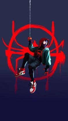 Spiderman Drawing, Spiderman Art, Noir Spiderman, Deadpool Wallpaper, Avengers Wallpaper, Man Wallpaper, Iphone Wallpaper, Amazing Spiderman, Heros Film