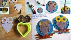 step by step...owl κουκουβάγια