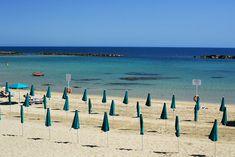 Santa Marinella beach, Italy