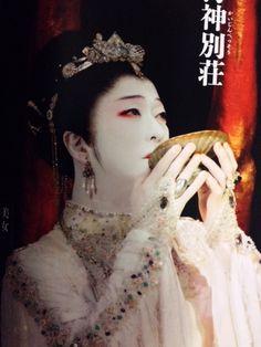 海神别荘 坂東玉三郎 Noh Theatre, Geisha Art, Special Dresses, Japan Art, Portrait Photo, Ancient Art, Chinese Art, Traditional Outfits, Masquerade