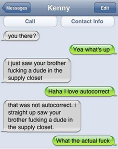 Hilarious Auto Correct blunders, funny texts and message from your phone! Funny Texts Jokes, Text Jokes, Funny Text Fails, Funny Text Messages, Epic Texts, Lol Text, Funny Text Conversations, Stupid Funny, Funny Stuff