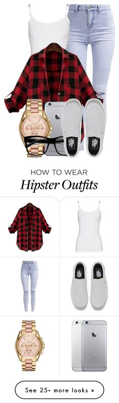 """Sem título #1977"" by isabellacarolina161 on Polyvore featuring New Look, Splendid, Michael Kors, Retrò and Vans"