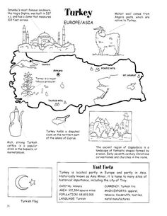 Germany Map & Worksheet - Geography | Germany for Kids ...