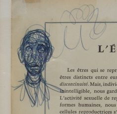 Just In: Alberto Giacometti Pen and Ink Drawings | Los Angeles Modern Auctions Blog