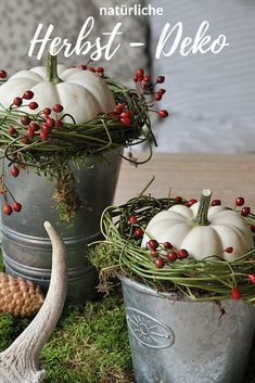 DIY natürliche Deko im Herbst mit Naturmaterialien deco caída The post Deco de bricolaje natural en otoño con materiales naturales appeared first on Coswell. Diy Home Decor Bedroom, Fall Home Decor, Autumn Home, Decor Diy, Diy Autumn, Decor Ideas, Diy Halloween Decorations, Halloween Diy, Christmas Decorations