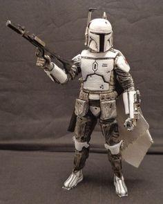 Boba Fett Prototype Version (Star Wars) Custom Action Figure