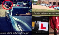 Private School Snapchats: Posh Teens and Their Supercar Problems