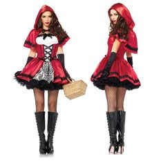 halloween costumes for women sexy cosplay little red riding hood fantasy game uniforms fancy dress outfit Halloween Dress, Halloween Kostüm, Halloween Cosplay, Halloween Outfits, Halloween Costumes, Women Halloween, Halloween Lularoe, Halloween Clothes, Halloween Carnival
