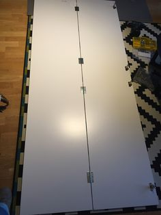 Double door with hinges