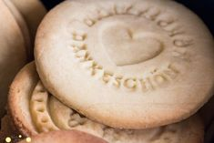 Pearl's Harbor: Dankeschön-Kekse als Give-Away zur Konfirmation und selbstgemachte Einladung