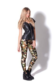 Commando Leggings by Black Milk Clothing