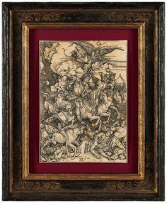 ALBRECHT DÜRER the four horsemen of the apocalypse / Die vier Reiter der Apokalypse
