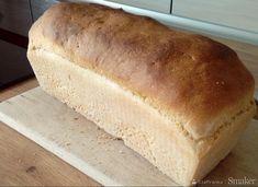 Najprostszy chleb pszenny na drożdżach - przepis ze Smaker.pl Baking, Anna, Diet, Bread, Bakken, Backen, Reposteria