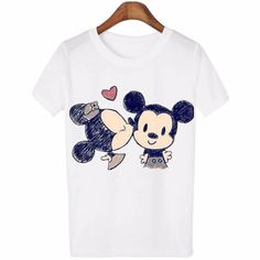 Fitted Prom Dresses, 2017 new summer women lovely cartoon o neck casual short sleeve t shirt , Fitted prom dresses are made in sexy and sleek designs such as long and short, long sleeves, beaded and strapless all made in a form of fitted dress. Mickey Mouse T Shirt, Cartoon T Shirts, Love T Shirt, Women Sleeve, Casual T Shirts, Casual Wear, Casual Tops, Shirt Price, Printed Tees