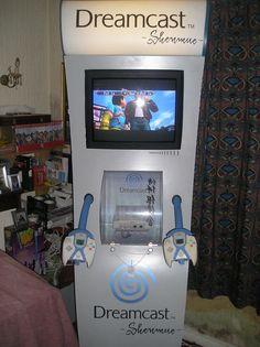 Sega Dreamcast Shenmue Themed Display Demo Kiosk Pod Unit in Video Games & Consoles, Consoles | eBay