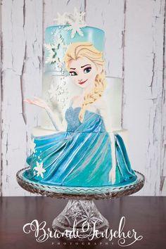 Cute Elsa cake