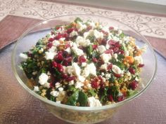 spring wheat berry salad.