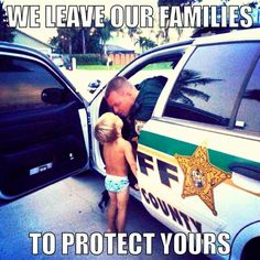 Back the Blue, show respect! Our law enforcement officers risk their lives everyday, they make sacrifices for us to be safe, show them that you appreciate them! Cop Wife, Police Wife Life, Police Family, Way Of Life, The Life, Police Quotes, Police Lives Matter, Leo Love, Law Enforcement Officer