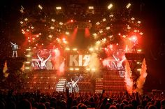 KISS Live. The Greatest Show On Earth.