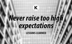 In Lessons Learned I write about my experiences as an entrepreneur.
