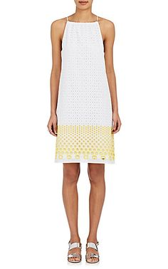 We Adore: The Cotton-Blend Eyelet Trapeze Dress from Lisa Perry at Barneys New York