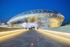 Dongdaemun Design Plaza & Park en Seúl (Corea del Sur). Obras de Zaha Hadid