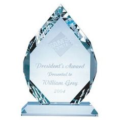 Classic Diamond Award - Medium