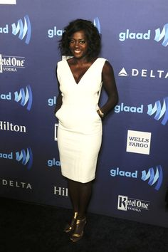 Viola Davis at the 2015 GLAAD Awards. [Photo by Amy Graves]