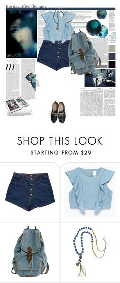"""""""The Day After the Rain"""" by ebeleroderick ❤ liked on Polyvore featuring Stop Staring!, Naya, Zara, Alexis Mabille and Miz Mooz"""