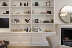 living room shelves on pinterest shelves spaces and bookshelves. Black Bedroom Furniture Sets. Home Design Ideas