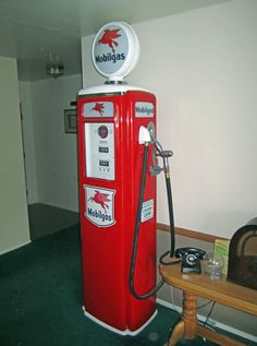 Vintage Gas  want in the kitchen have coke come out of it
