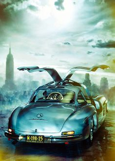 Mercedes-Benz 300 SL Calendar :: René Staud Photography