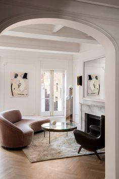 Boho Home Decor modern living room with arched doorway.Boho Home Decor modern living room with arched doorway. Design Living Room, Living Room Lounge, Living Room Interior, Living Room Decor, Luxury Living Rooms, Dining Room, Elegant Home Decor, Natural Home Decor, Elegant Homes