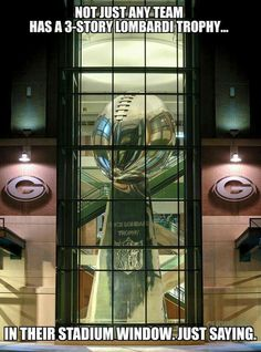Lombardi Trophy Lambeau Field Green Bay by CurbsideCapture Packers Memes, Packers Funny, Packers Baby, Go Packers, Nfl Memes, Packers Football, Football Memes, Greenbay Packers, Football Baby