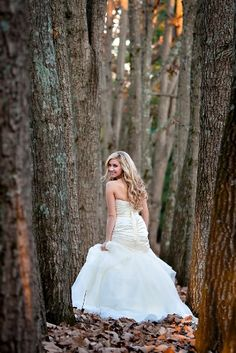 Knoxville Wedding Photography, Bridal portrait with trees, winter bridal, Bridal By Lori gown  www.leahbullard.com