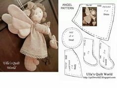 Angel doll pattern