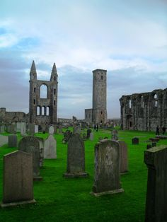 'Standing Tall' - Luana Balog |  St. Andrew's Cathedral ruins & grounds.    My most favorite place!