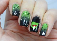 The Wickedest Witch there ever was... - Brit Nails