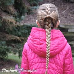 I love adding little details to a simple braid. So sweet! Thus hairstyle was just shared by @braidsforlittlegirls!!!  #braidsforgirls #braidtrends #littlegirlbraids #littlegirlhairstyles #braidphotos #braidstyles #hairstyles_for_girls #cghphotofeature #solopeinados #jehatfeaturefriday #ab_feature #hairinspo #hairinspiration #perfecthairpics #braids #instabraid #split5strandbraid #bow #bows