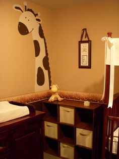 neutral nursery ideas | Neutral Giraffe - Nursery Designs - Decorating Ideas - HGTV Rate My ...