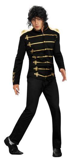 Michael Jackson Military Costume - Adult Costumes