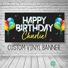 This personalized birthday banner is perfect for celebrating a birthday during quarantine with a happy birthday yard art vinyl banner! As parents, we are getting creative for fun ways to lift our kids spirits during this unprecedented time and dont want milestone birthdays to pass our kids by. Horse Birthday, Cowboy Birthday, Adult Birthday Party, Birthday Party Themes, Girl Birthday, Birthday Ideas, Summer Birthday, 60th Birthday, Birthday Decorations