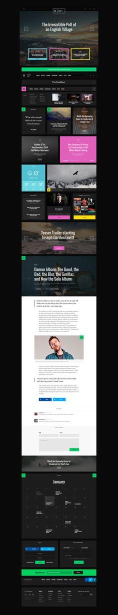 Headliner UI KIt Preview in UI