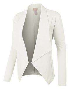 Product review for RubyK Womens Plus Size Open Front Long Sleeve Tuxedo Blazer Jacket.  - Whether you are going to work or to a late night dinner, this open front long sleeve tuxedo blazer jacket is a must! Made of a stretchy and soft material for comfort, this blazer will instantly make any outfit look more classy. Pair this comfortable blazer with pants or skirts. Sizing Info...