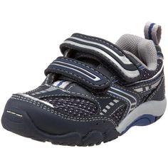 Stride Rite SRT Alvar Sneaker (Toddler),Navy/Silver/Cobalt,6.5 M US Toddler Stride Rite. $46.00
