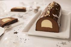 La bûche tout chocolat Recette en vidéo de L'atelier des Chefs